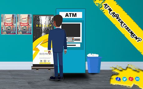 Outdoor ATM Advertising