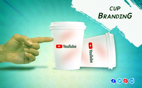 Outdoor Tea Cup Advertising