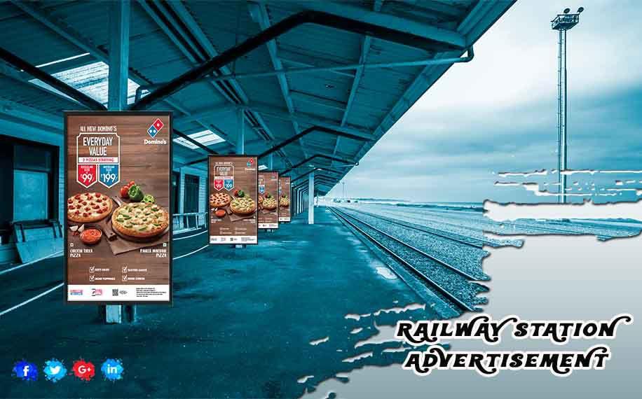 Outdoor Railway Station Advertising Advertising