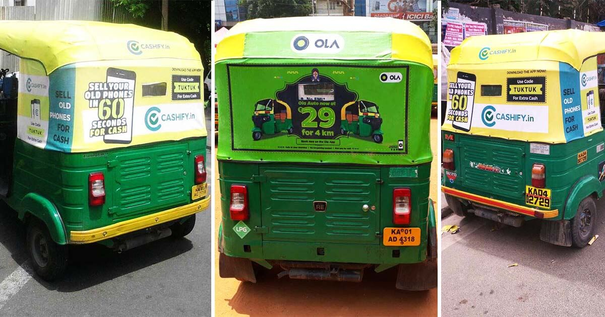 Outdoor Auto Rickshaw Advertising