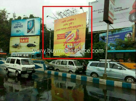 Billboard OOH advertising in AJC Bose road,Kolkata, West Bengal, India