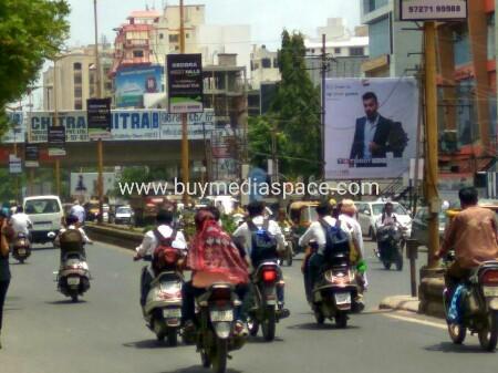 Billboard OOH advertising in kalawad road,Rajkot, Gujarat, India