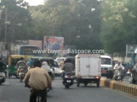 Billboard OOH advertising in Dr. Yagnik road,Rajkot, Gujarat, India