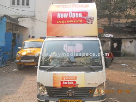 Mobile Van OOH advertising in ,Kolkata, West Bengal, India