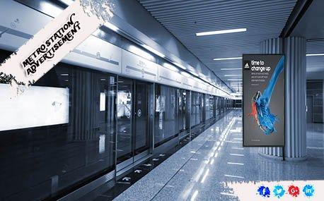 Outdoor Metro Station Advertising