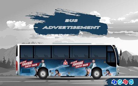 High Impact Bus Branding - Bangalore