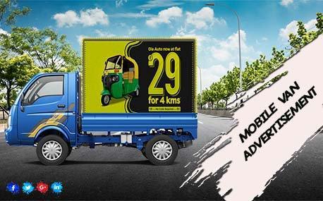 Quick Activation Special Mobile Van Branding