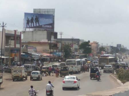 Billboard OOH advertising in vavdi circle / Gondal chowkdi,Rajkot, Gujarat, India