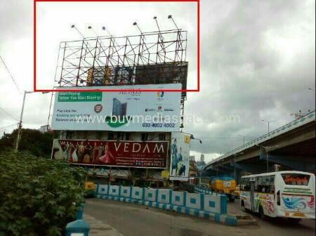 Billboard OOH advertising in Park circus,Kolkata, West Bengal, India