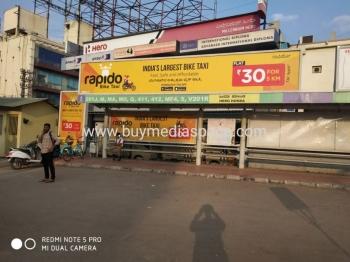 Bus Shelter OOH advertising in Domlur, Bengaluru
