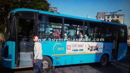 Bus OOH advertising in ,Rajkot, Gujarat, India