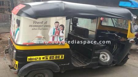 Auto Rickshaw OOH advertising in ,Jaipur, Rajasthan, India