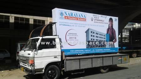 Mobile Van OOH advertising in ,Bengaluru, Karnataka, India